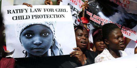 Nigeria des-femmes-protestent-contre-l-enlevement